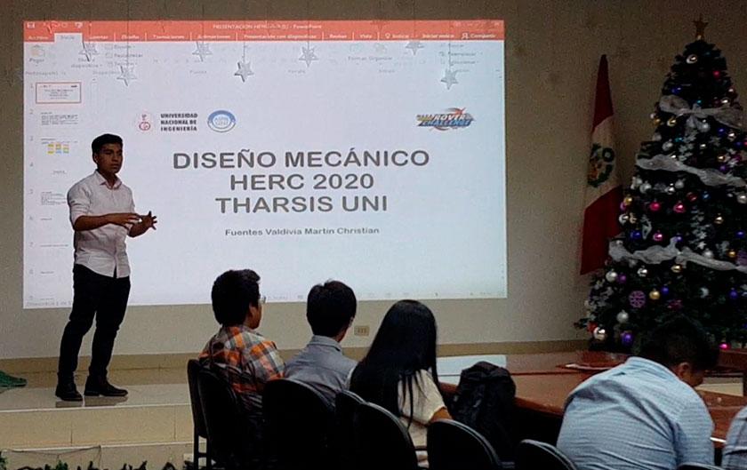 FIM con el equipo multidisciplinar de la UNI para el proyecto Human Exploration Rover Challenge organizado por la NASA